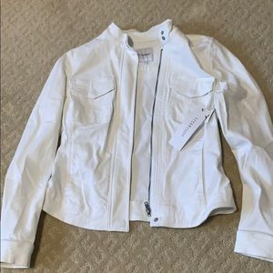 White denim Liverpool jacket -new with tags